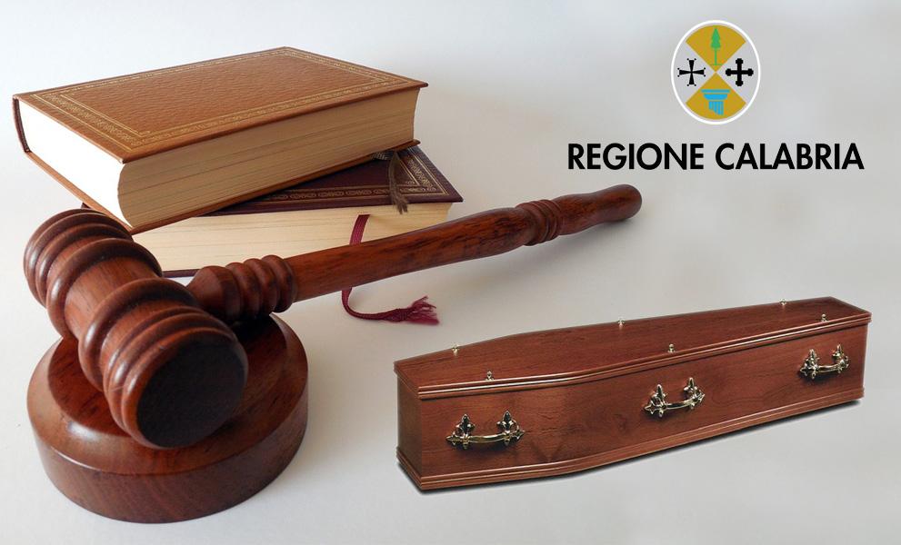 Legge regionale funeraria Calabria 26 giugno 2018 numero 22