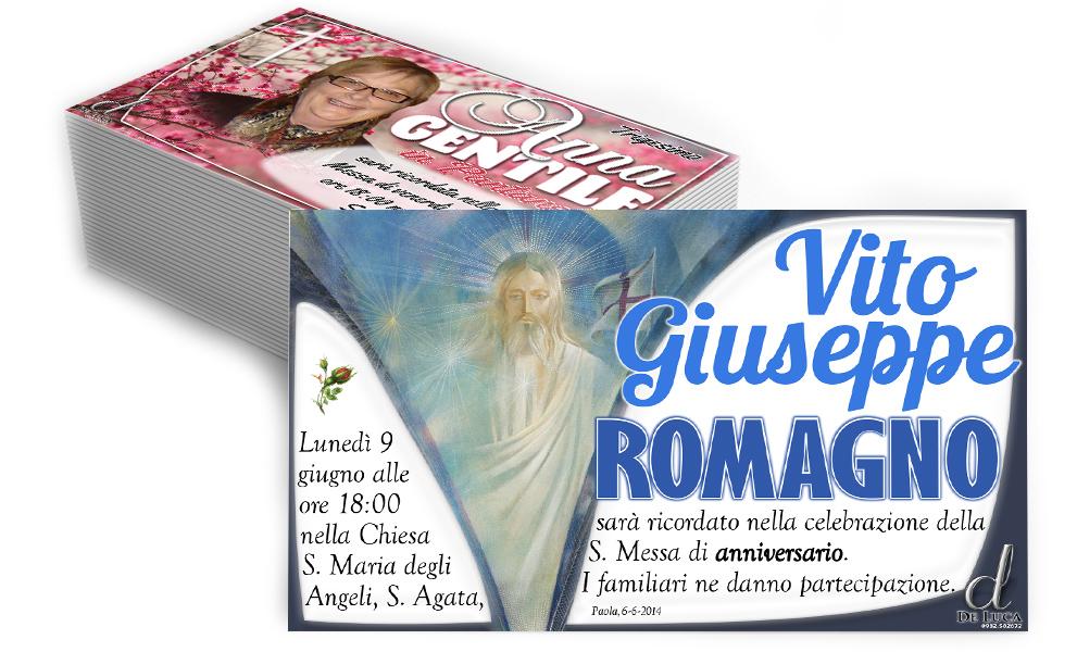 manifesti annuncio morte trigesimo anniversario Gesù Madonna Croce fotografia defunto
